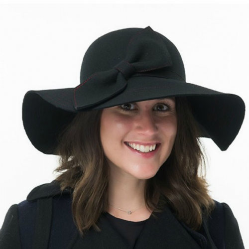Women's Wide Floppy Brim Hat - Felicity